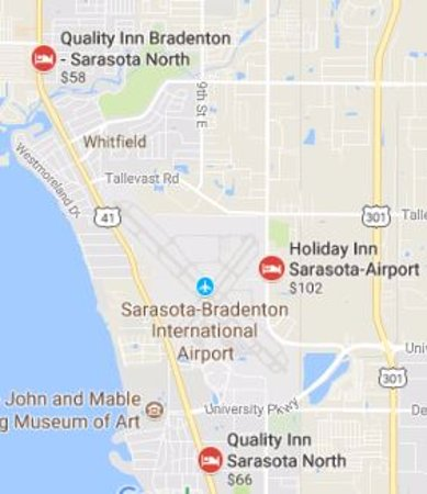 Quality Inn & Suites Airport : Note: both are called Sarasota North! Dumb!!!