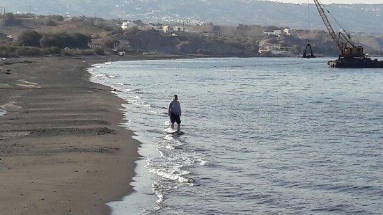 Monolithos, Greece: Пляж Монолитос