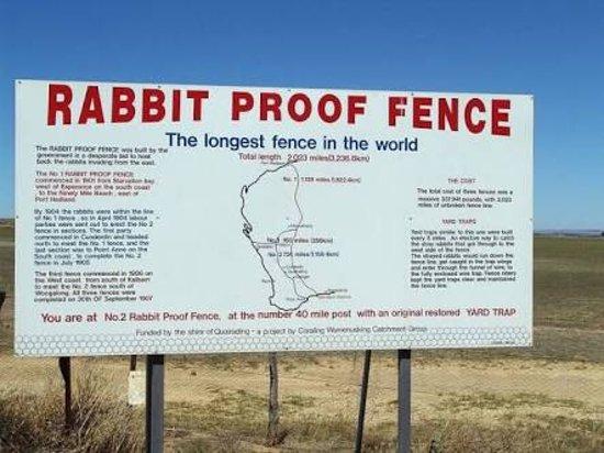 Merredin, Australië: No. 1 Rabbit Proof Fence