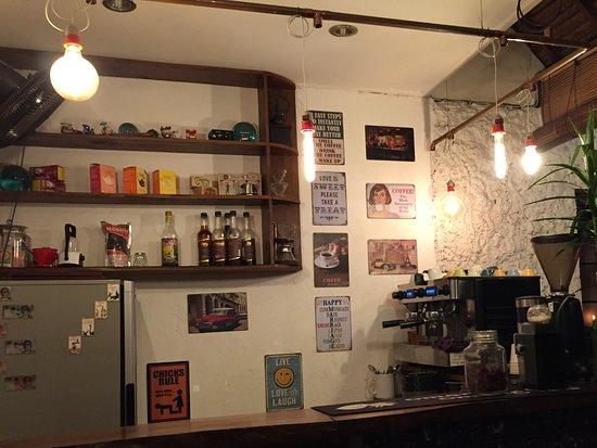 Coffee bar nights.
