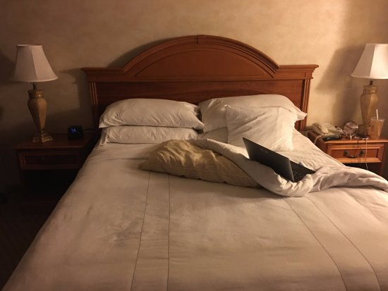 Sacramento Marriott Rancho Cordova: King bed?