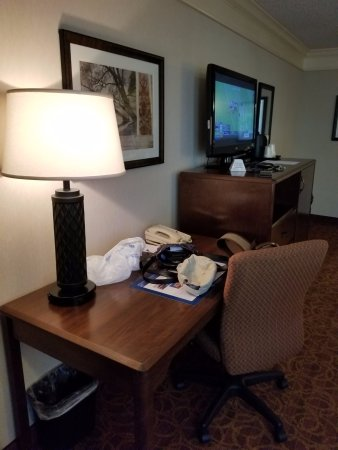 Best Western Inn of the Ozarks: Desk and TV