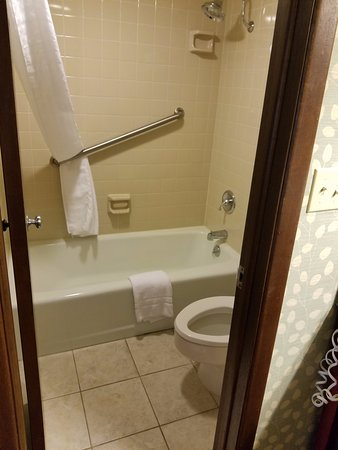 Best Western Inn of the Ozarks: Bathroom