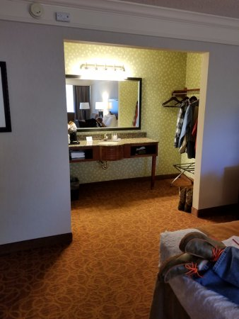 Best Western Inn of the Ozarks: Vanity view
