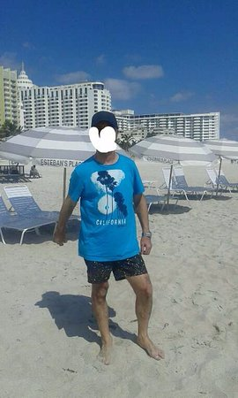 The President Hotel - Miami Beach: Se alquilan sombrillas y reposeras. Las toallas te las da el hotel