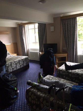 Tavistock Hotel: Habitacion para cuatro personas