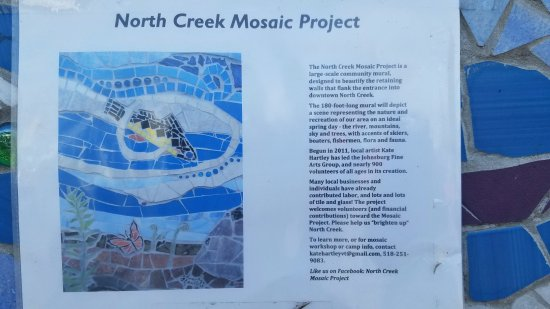 North Creek Mosaic Project: history being made...