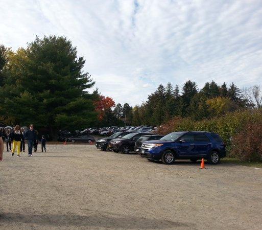 Altamont, Estado de Nueva York: Parking lot of the farm