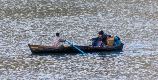 Classic The Mall: Boating in the Nani Lake, as seen from the balcony