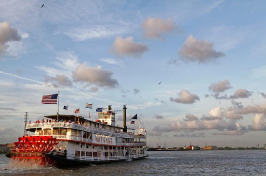 New Orleans Dinner Cruise, Private Boat and Engine Room Tour