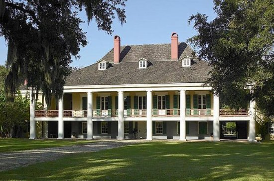 Destrehan Plantation and Large...