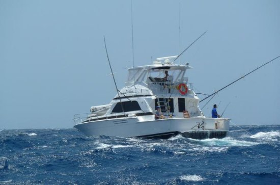 Private Fishing Charter in Curacao