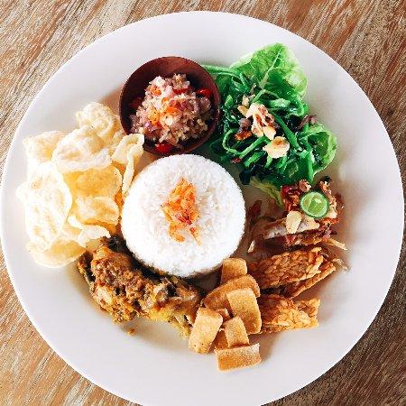 Indonesian Nasi Campur