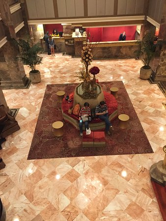 Michelangelo Hotel: Lobby of the hotel