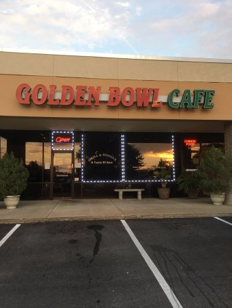 Hurst, TX: Outside of the Golden Bowl Cafe