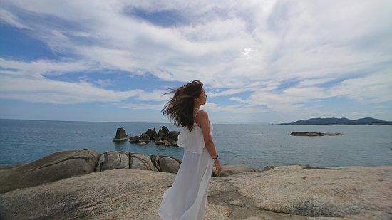 Hin Ta & Hin Yai Rocks : taken with just smartphone
