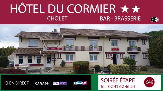 hotel du cormier cholet france voir les tarifs 44 avis et 4 photos. Black Bedroom Furniture Sets. Home Design Ideas