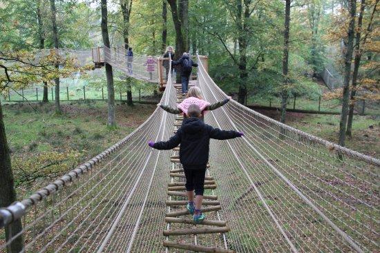 Hoor, Sweden: Hængebroer
