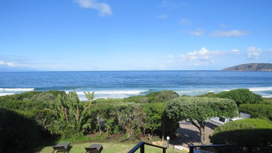 The Robberg Beach Lodge: View from the Reception