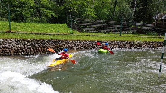 Lacko, Poland: kayaking lessons