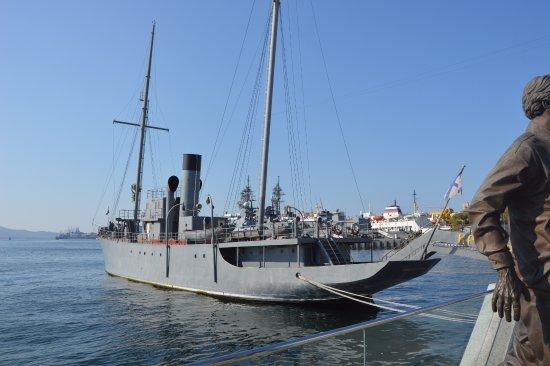 Memorial ship Krasny vympel