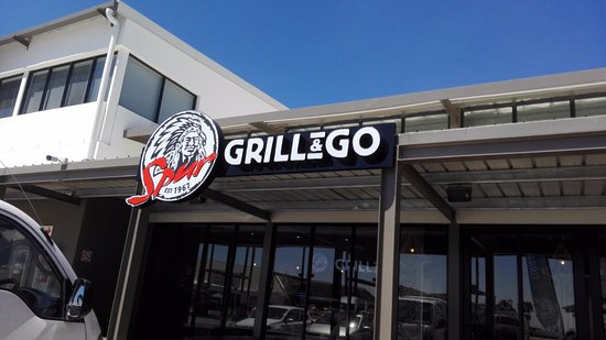 Piketberg, Afrika Selatan: Spur Grill & Go outside view