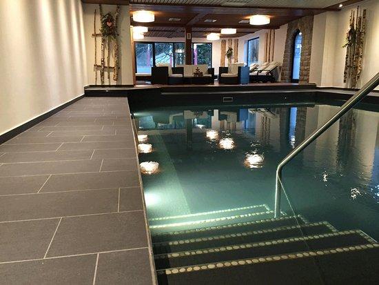 Schwimmbad mit liegefl che und infrarotkabine picture of for Hotel munster mit schwimmbad