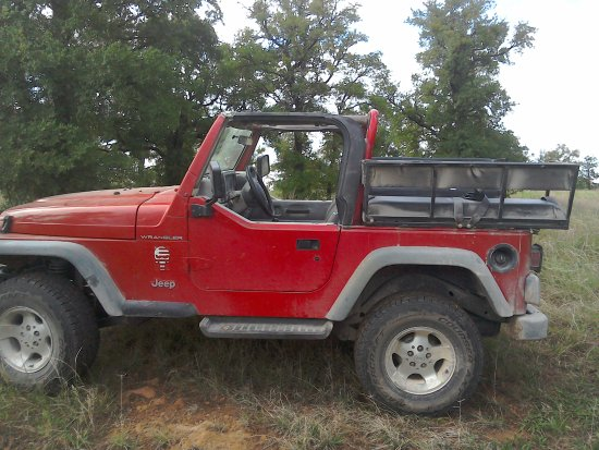 Ranch Jeep >> Jeep For The Ride Out Picture Of Wildcatter Ranch Graham
