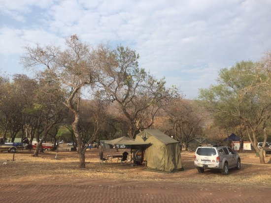 Middleburg, South Africa: Non power camp sites