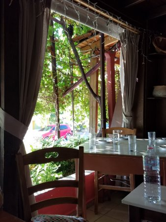 Episkopi, Grecia: A view from our seat