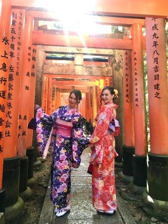 Photo0 Jpg Picture Of Kimono Rental Kyoto Aiwafuku Fushimi Inari Tripadvisor