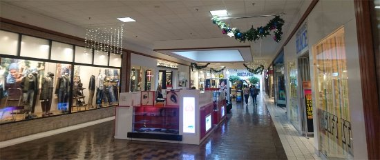 Jacksonville, Carolina del Norte: Inside mall