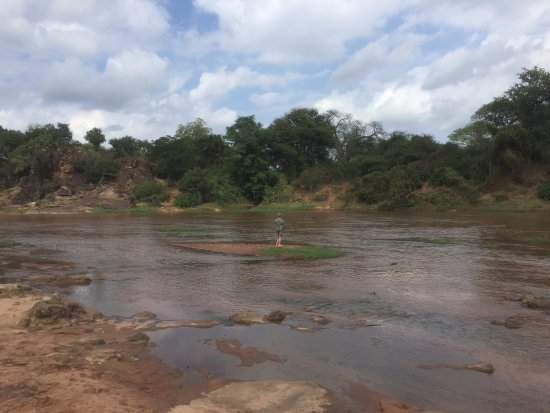 Louis Trichardt, Sydafrika: Fishing in the river