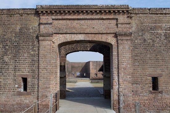Old Fort Jackson: Entrance