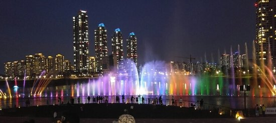 Incheon, South Korea: Cheongna Lake Park
