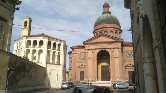 Casalmaggiore - Il complesso del Duomo e della chiesa di Santa Chiara