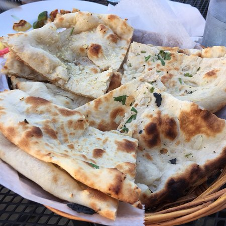 Midland, MI: Garlic Naan