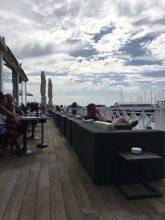 El Mirador: Excellent food, with a nice view of the sea.