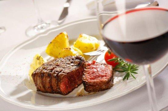 La Cantina Restauracja : stek z wołowiny polskiej