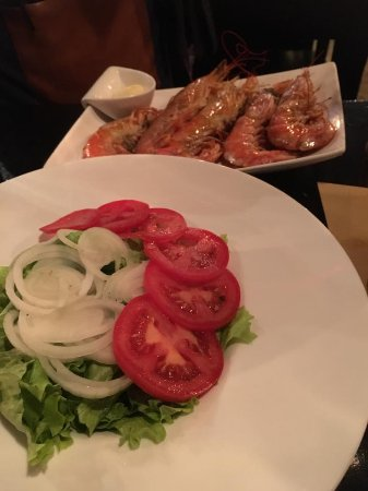 The Wine Box - Vinhos & Tapas: Grilled Prawns