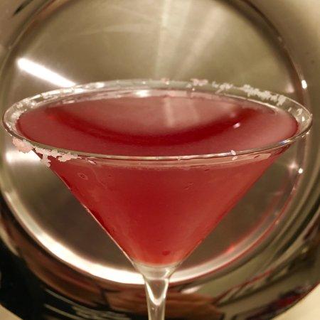 Wethersfield, CT: Pomegranate Margarita w/ Salt
