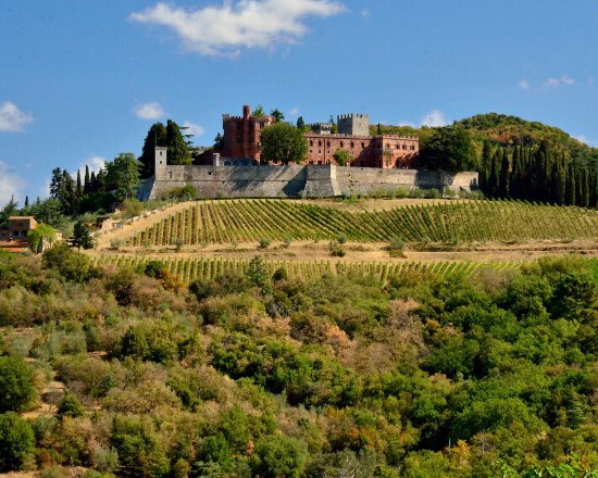 Views of Castello di Brolio.  The view from the top is incredible.