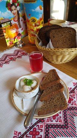 хлеб и сало