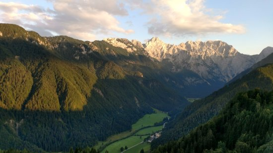 Solcava, Slovenia: Views from Panoramic Road