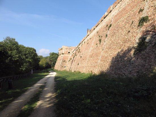 Fortezza Medicea di Poggio Imperiale: le mura interne