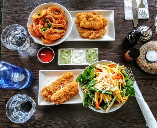 Icelandic Fish & Chips: The food