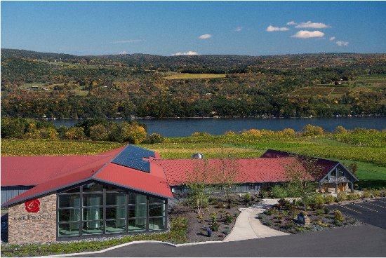 Watkins Glen, Estado de Nueva York: Lakewood Vineyards - Fall 2017