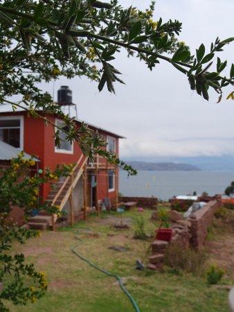 Llachon, Peru: partie de l'auberge plus récente , et vies sur le lac Titicaca