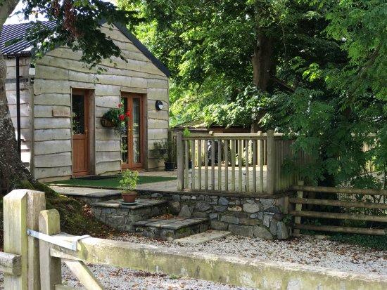Llanfor, UK: Caban y Saer Lodge for 2