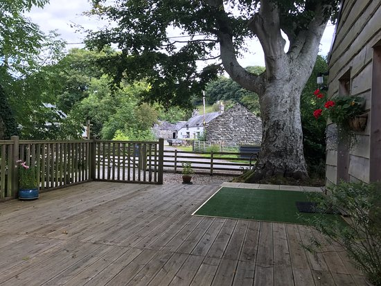 Llanfor, UK: Caban y Saer Deck